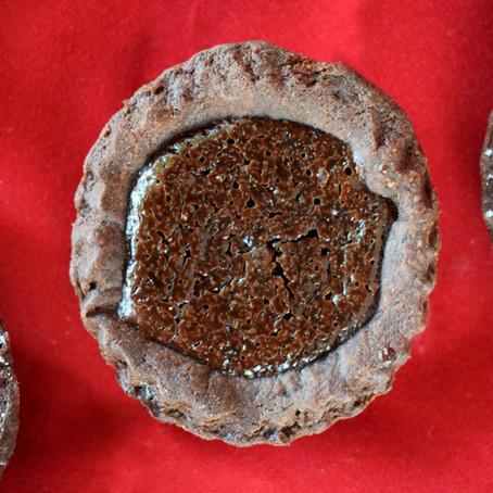 Mini Mocha Chocolate Tarts