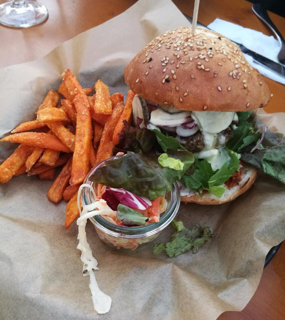 Jesses Buffalo Burger at Spreegold!