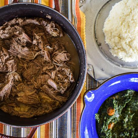 My take on Botswana's national dish Seswaa!