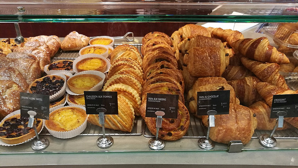 Pastries at Galeries Lafayette