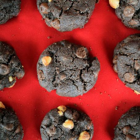 Fudgy Brownie Cookies or I like to call them Browkies