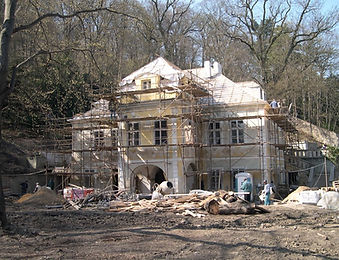 Vlasska Baroque Villa Reconstruction