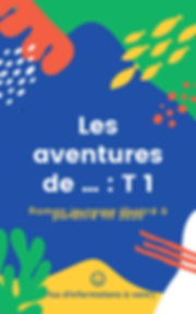 Colorful Abstract Adventure Children's B