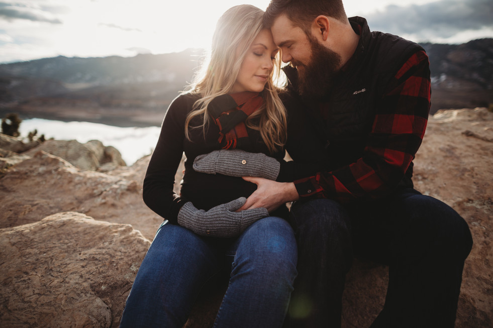 Horsetooth Maternity Session