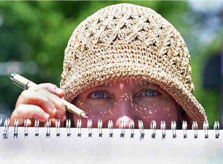 Eyes on creativity during a quarantine