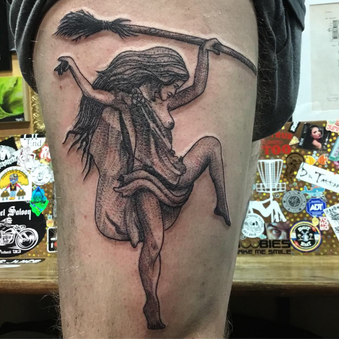 Tricky Witch on Aaron