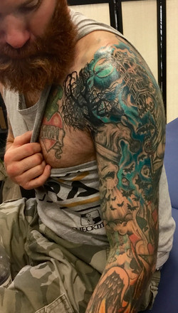 Brandon's sleeve wip