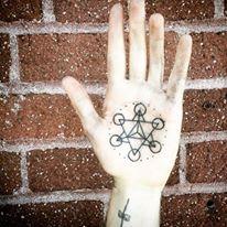 Nadine's hand tattoo