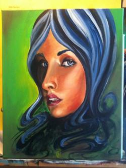 New painting acrylic