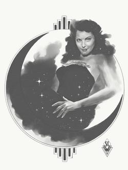 Moon lady