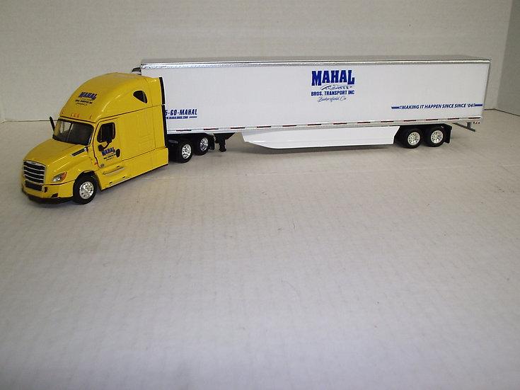 1/53 Freightliner Cascadia High Sleeper W/ 53' Reefer Van, Mahal Trucking