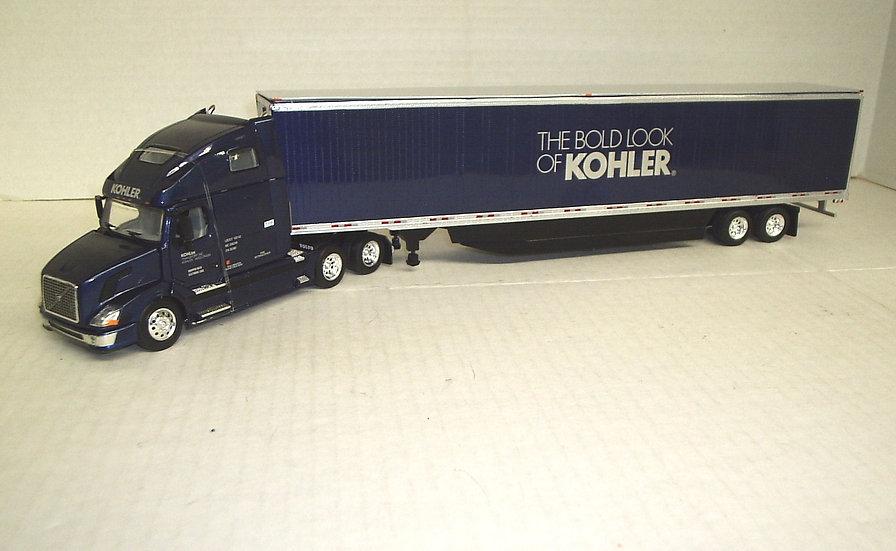 1/53 Volvo VNL 670 Sleeper 53' Dry Van, Kohler