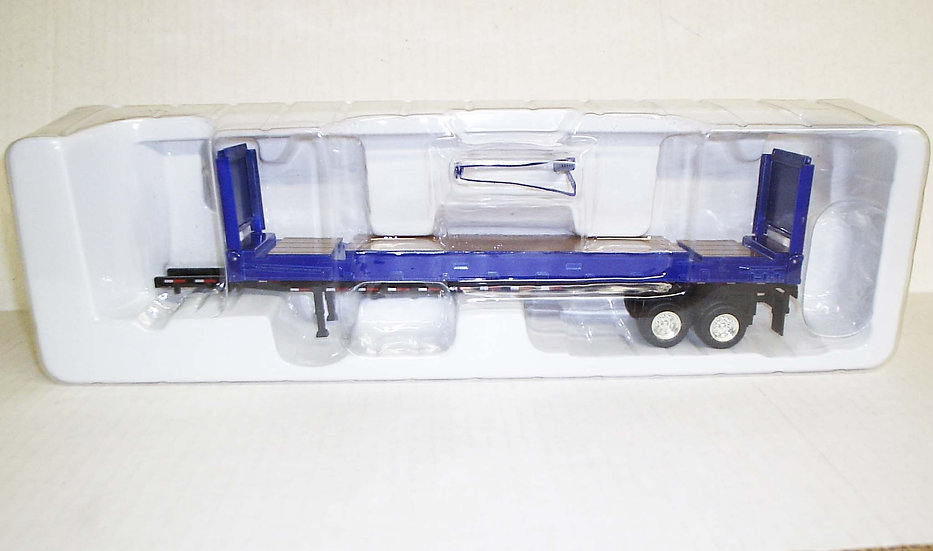 1/53 Flat Tailer with Container Chassis,Blue