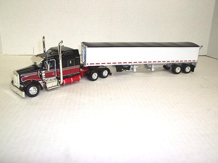 "1/53 Kenworth W900L w/ 72"" Sleeper w/ Grain Hopper"