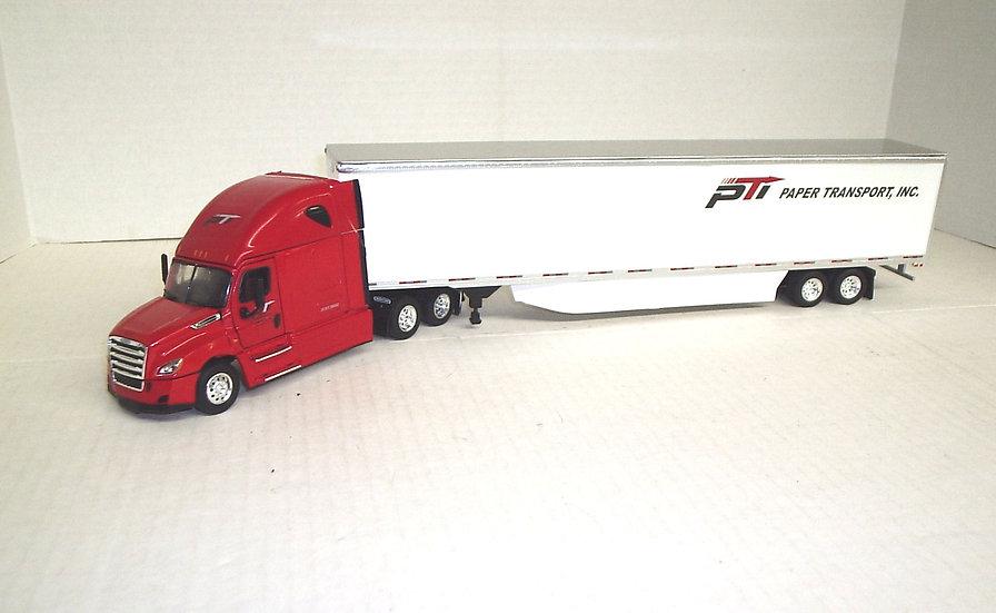 1/53 Freightliner Cascadia Sleeper 53'Dry Van, PTI