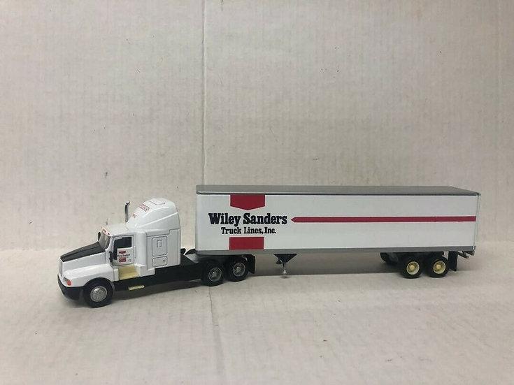 1/64 Kenworth T600 Sleeper W/ Dry Van, Wiley Sanders Truck Lines