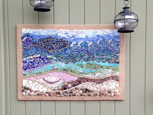 Sea-glass Sea Scape