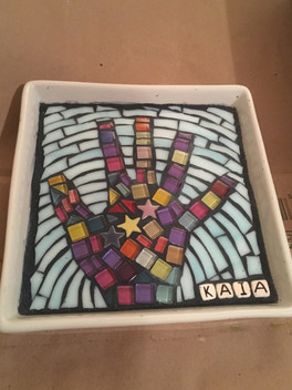 Birthday Hand Mosaic