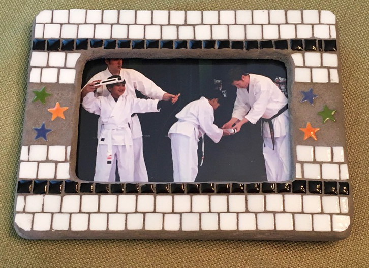 Karate Belt Frame