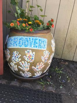 Graduation Preschool Flower Pot