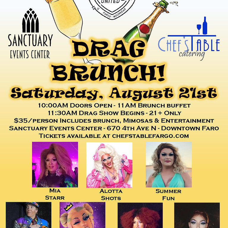Drag Brunch at Sanctuary