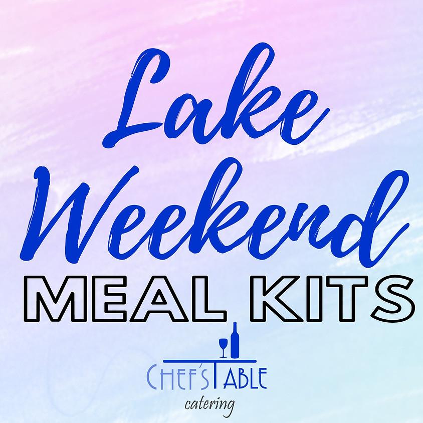 Lake Weekend Meal Kit