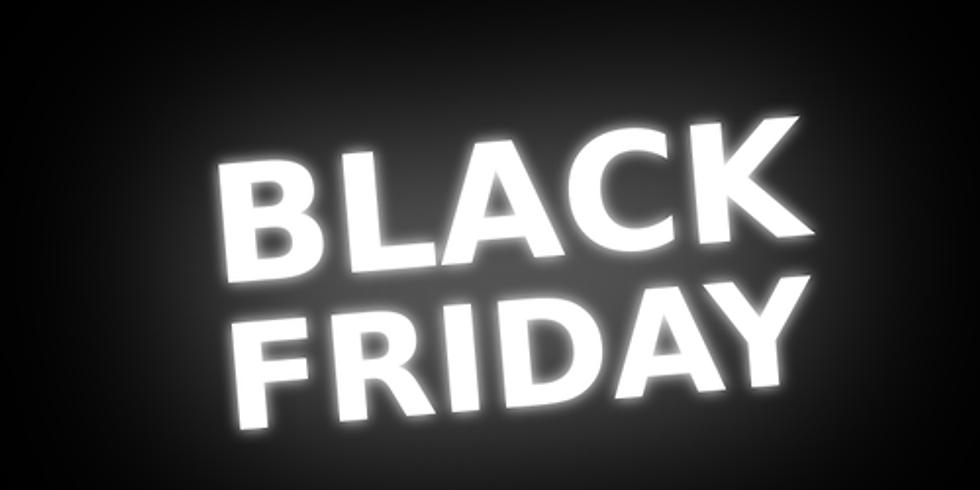 Black Friday Special Nov 29