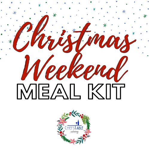 Christmas Weekend Meal Kit