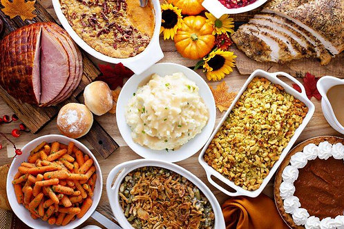 Thanksgiving Meal Kit w/ Pumpkin Pie