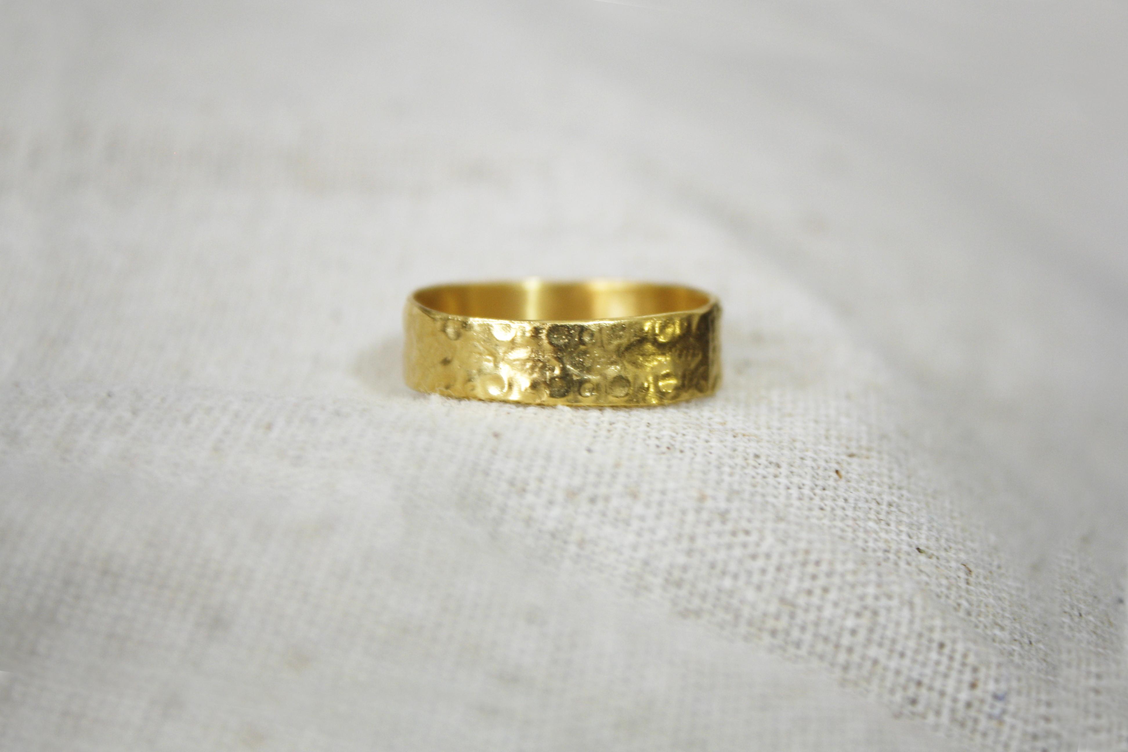 טבעת הילולי תימן זהב