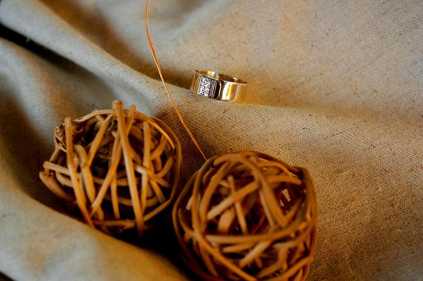 טבעת נישואים זהב