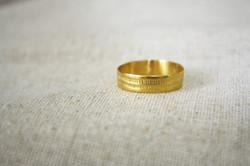 טבעת קוד סתרים זהב