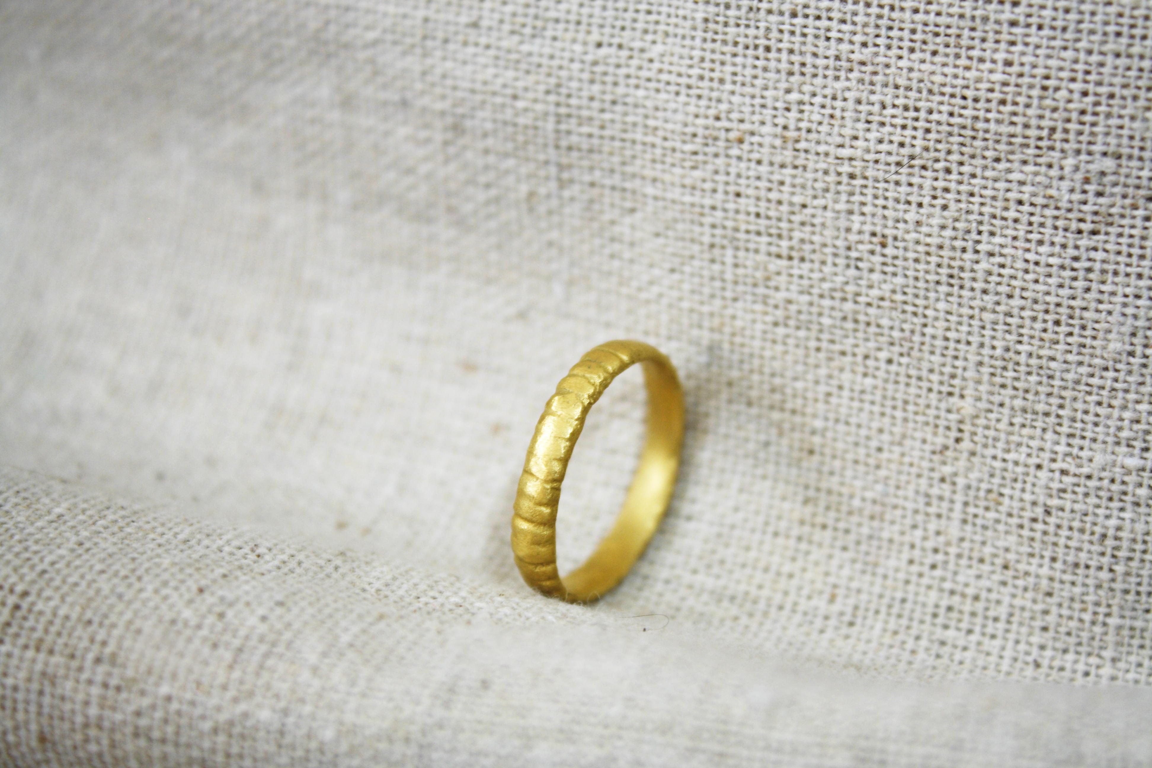 טבעת רוח הכהן זהב