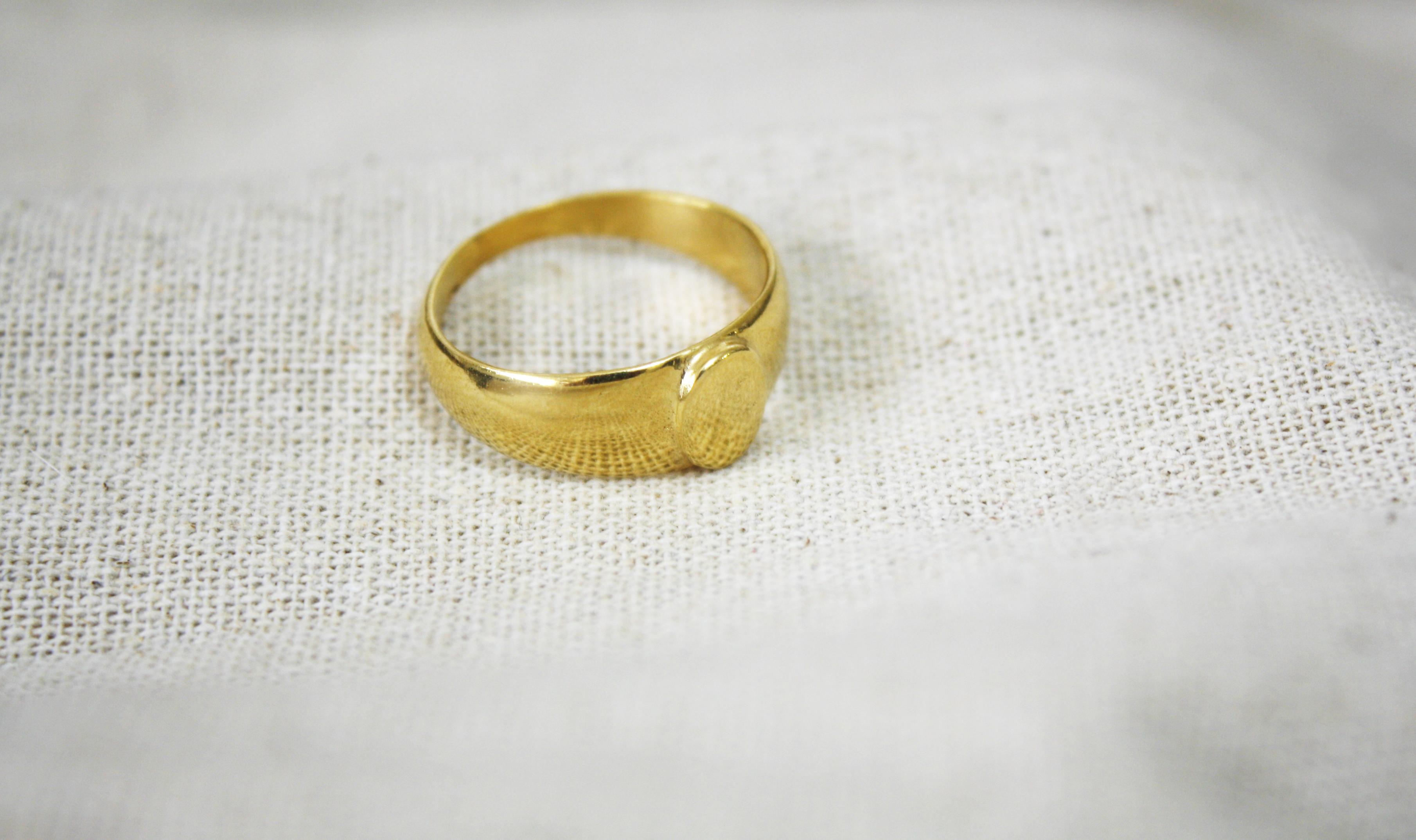 טבעת נדודים זהב