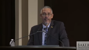 Guyana Ministers Address the International Investment Community at Rice University's Baker Institute