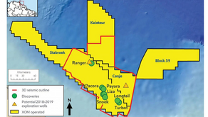 Exxon announces two new discoveries offshore Guyana