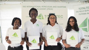 24 Guyanese complete third training course of 2018 at the TOTALTEC Academy
