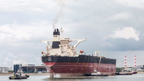 Tanker sails into Singapore for ExxonMobil Guyana Liza FPSO conversion