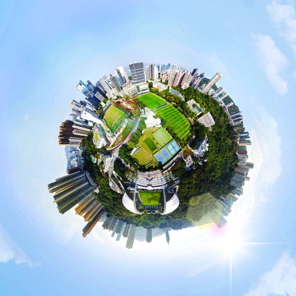 720 ° Aerial VR Tour
