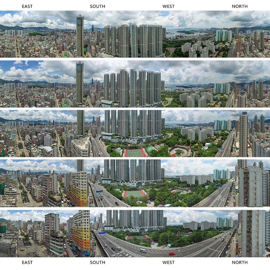 360 ° Aerial Panorama