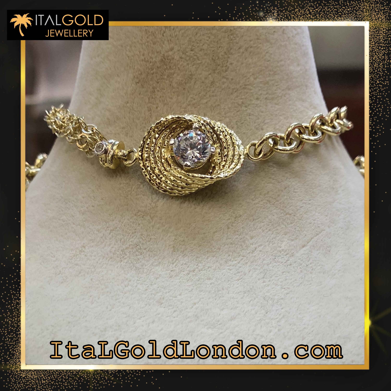 Ital Gold London гривна z2