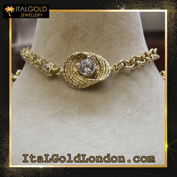 Ital Gold London гривна z2