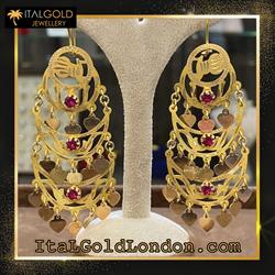 Ital Gold London обеци e2