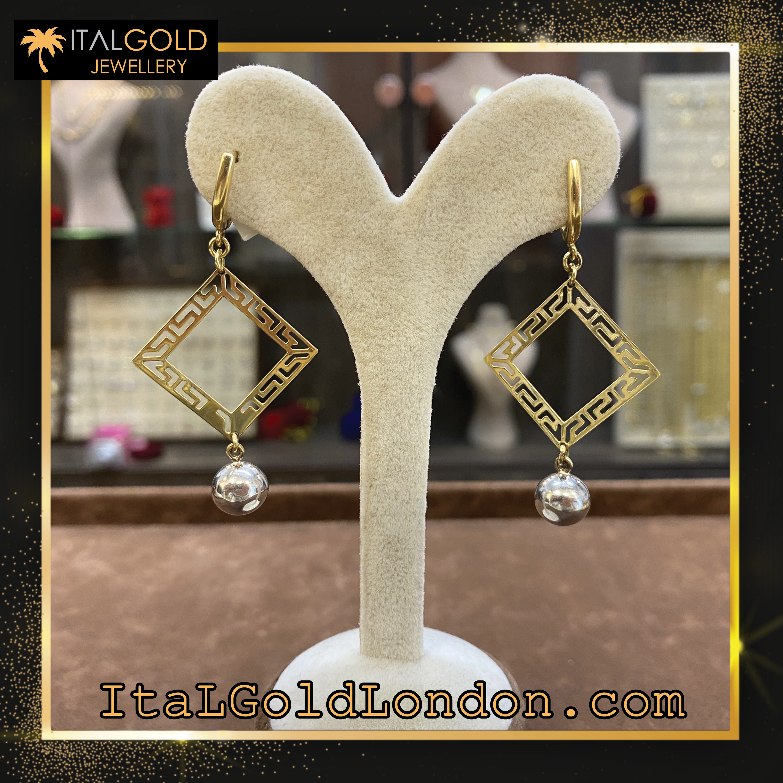 Ital Gold London обеци b1