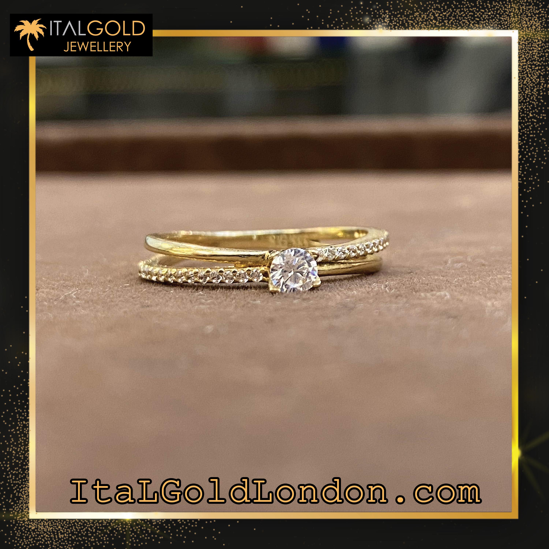 Ital Gold London пръстен k1