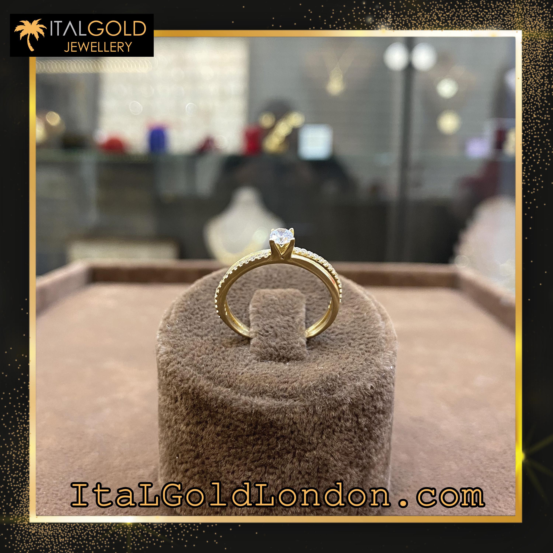 Ital Gold London пръстен k2