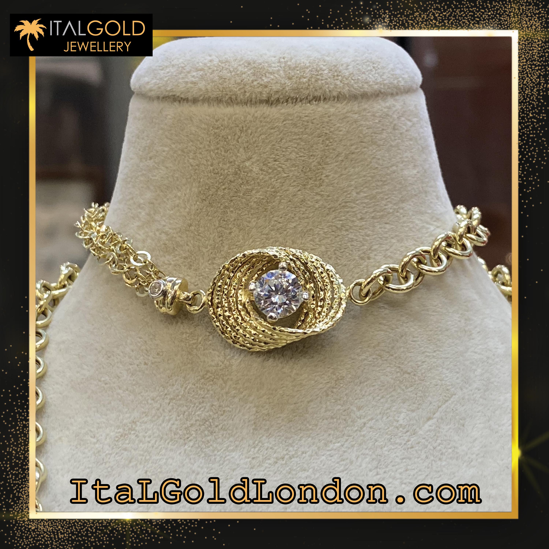 Ital Gold London гривна z1