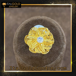 Ital Gold London пръстен b2