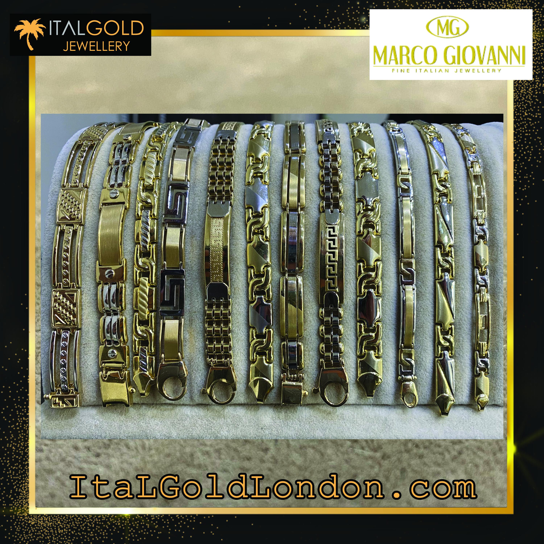 Златна гривна Ital Gold London Marco Gio