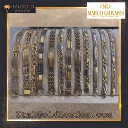 Златна гривна Ital Gold London Marco Gio
